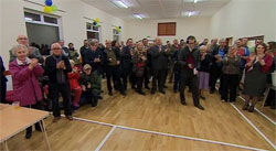 Re-opening of Moorland Village Hall