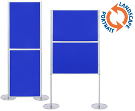 2 Panel Modular Display Boards - 1000 x 700mm