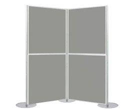 4 Panel Modular Display - 1m x 1m Boards