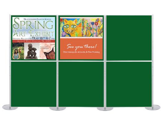 Memorial poster board template