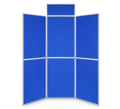6 Panel Folding Display Boards - 1000 x 700mm