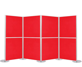 8 Panel Modular Display - 1m x 1m Boards