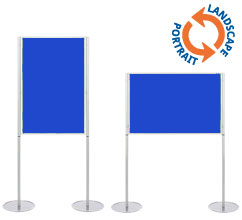 Single A0 Display Boards