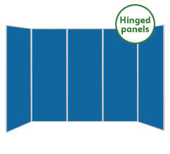 Large 5 Panel Folding Display Boards