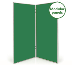 Large 2 Panel Modular Display Boards