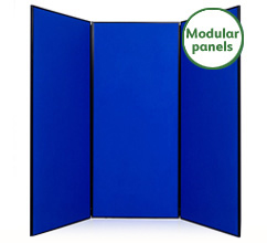 Jumbo 3 Panel Modular Display Boards