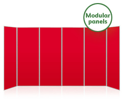 Jumbo 6 Panel Modular Display Boards
