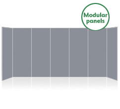 Jumbo 7 Panel Modular Display Boards
