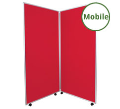 Mobile Display Boards - 2 Panels