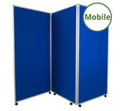 Mobile Display Boards - 3 Panels