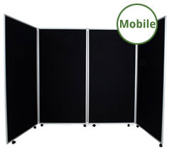 Mobile Display Boards - 4 Panels