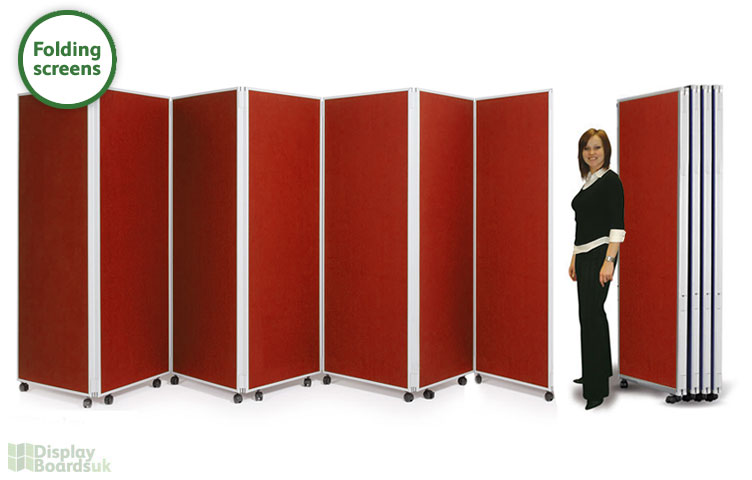 Folding Screens 7 X 1800mm High Boards