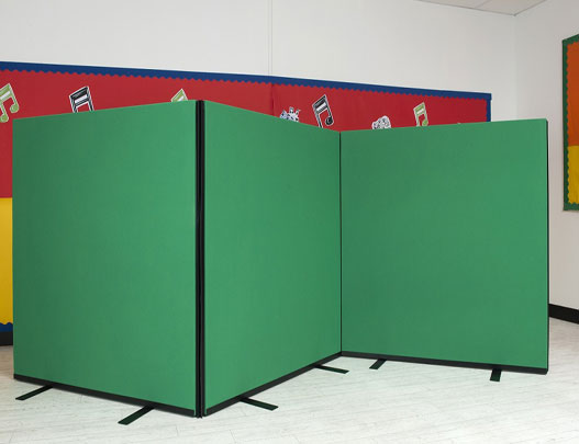 1m wide office dividing screens for Office display board